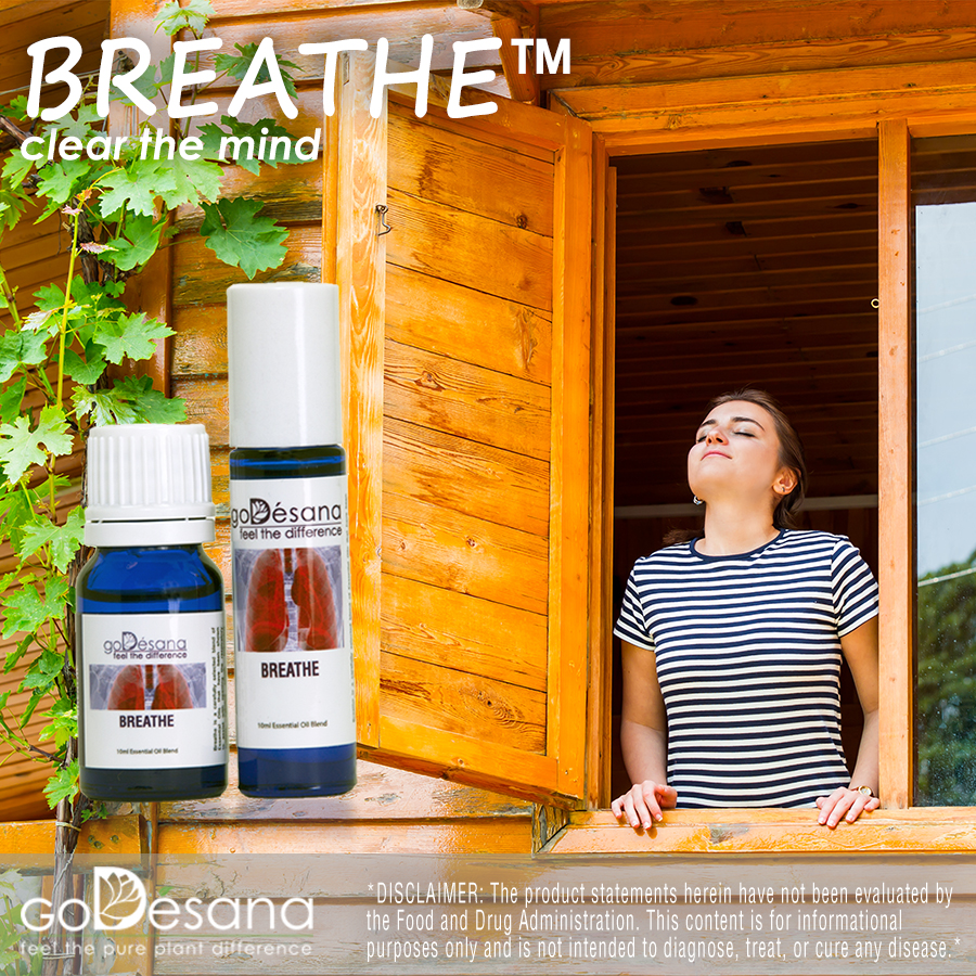 Breathe Essential Oil Social Media Image
