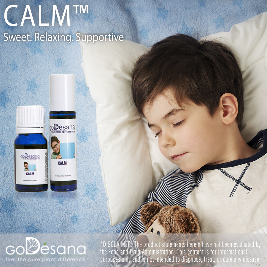 Calm Essential Oil Social Media Image