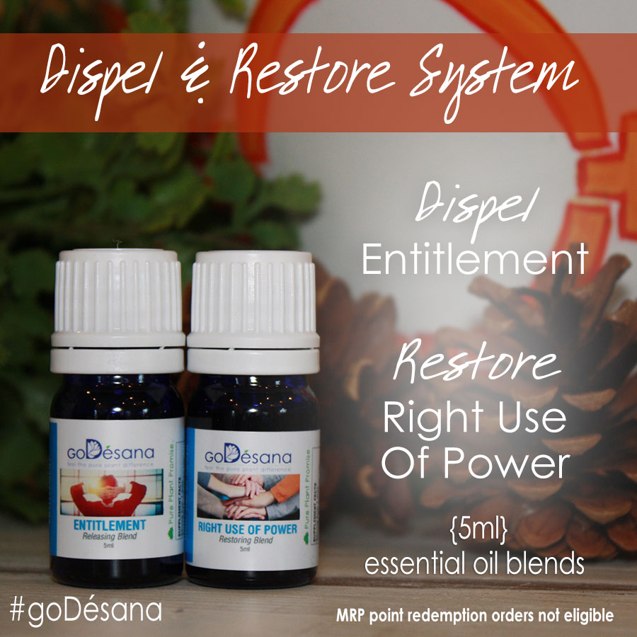 Dispel Entitlement & Restore Right Use Of Power Daily Deal