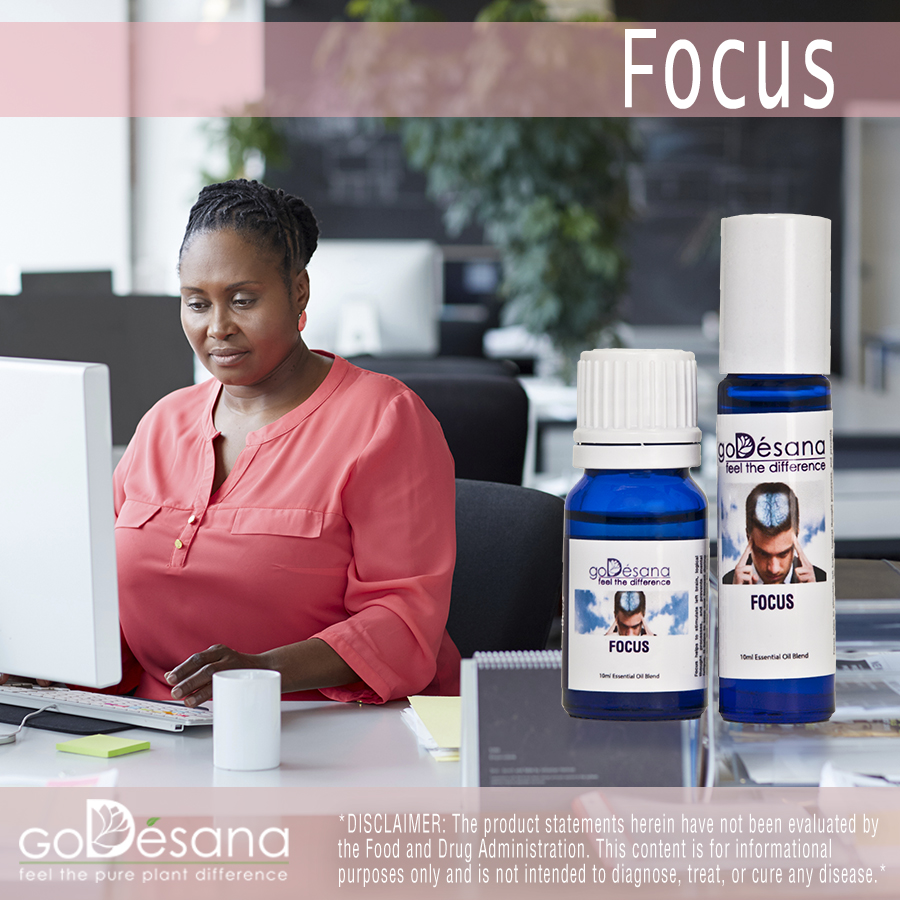 Focus Essential Oil Blend Social Media Image