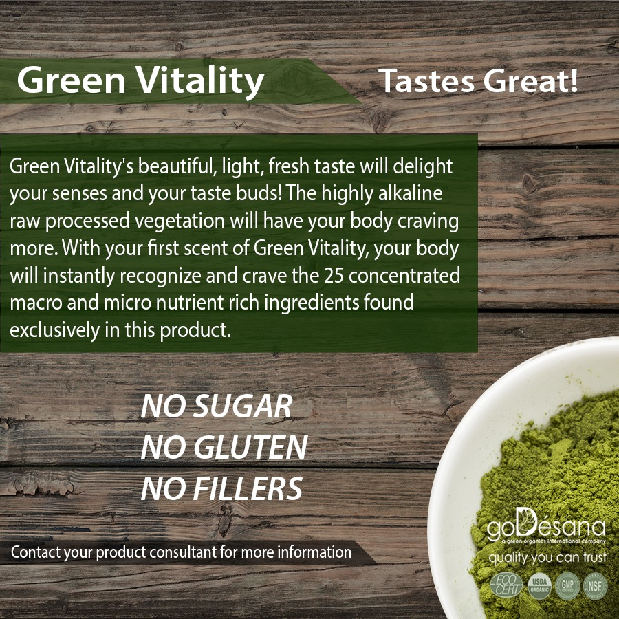 Green Vitality Superfood Social Media Image
