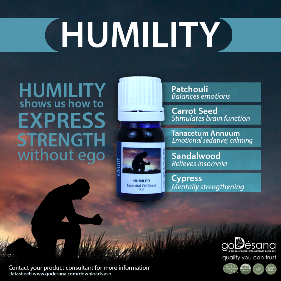 Humility Essential Oil Blend Social Media Image
