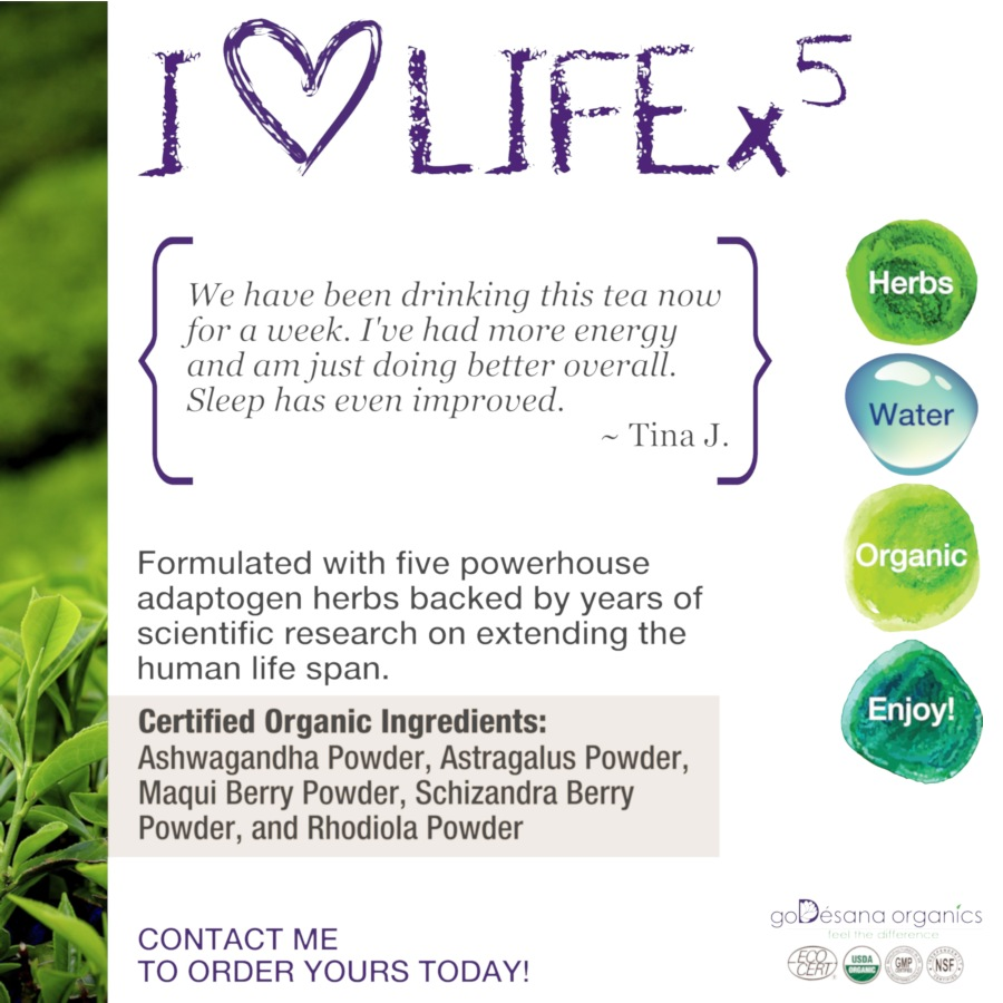 LIFEx5 Herbal Blend