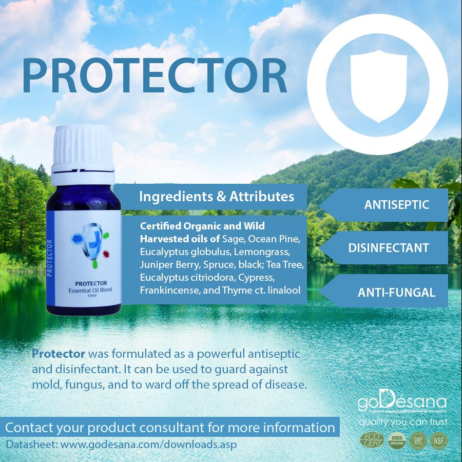 Protector Essential Oil Blend Social Media Image