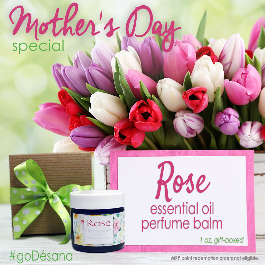 Rose Perfume Balm Mother's Day Special
