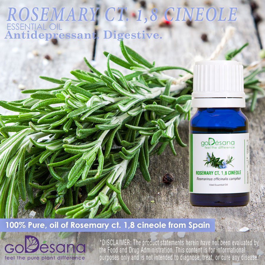 Rosemary ct. 1,8 cineole Essential Oil Social Media Image