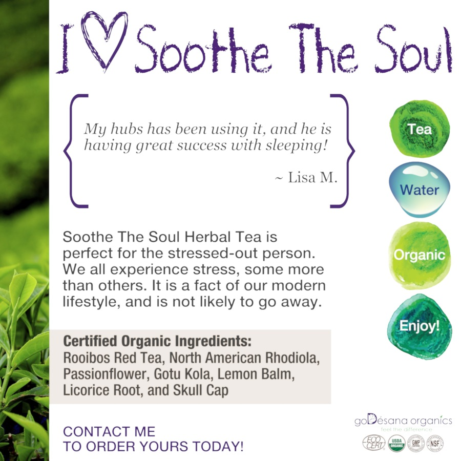 Soothe The Soul Herbal Tea