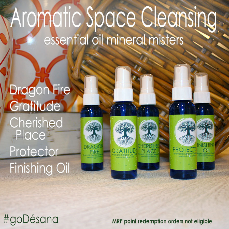 Aromatic Space Cleansing Essential Oil Mineral Misters