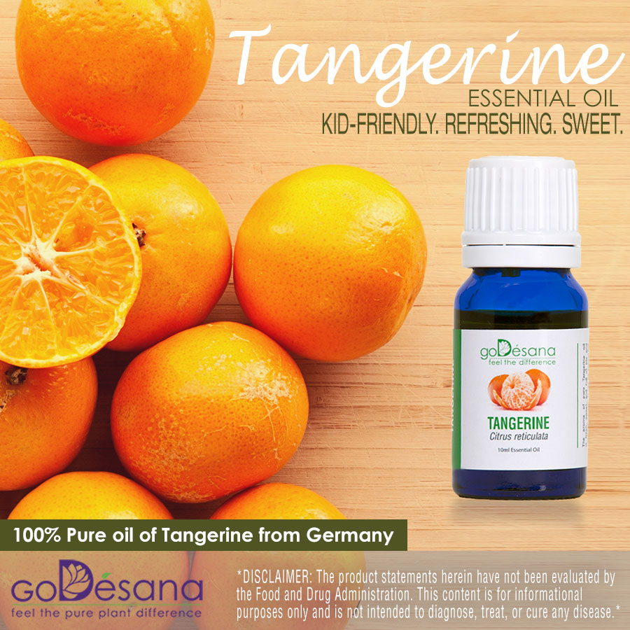 Tangerine Essential Oil Social Media Image