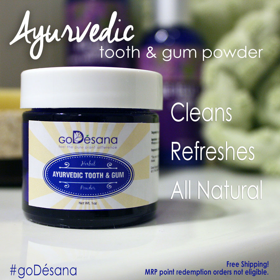 Ayurvedic Tooth & Gum Powder Daily Deal