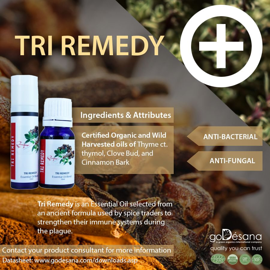 Tri Remedy Essential Oil Blend Social Media Image