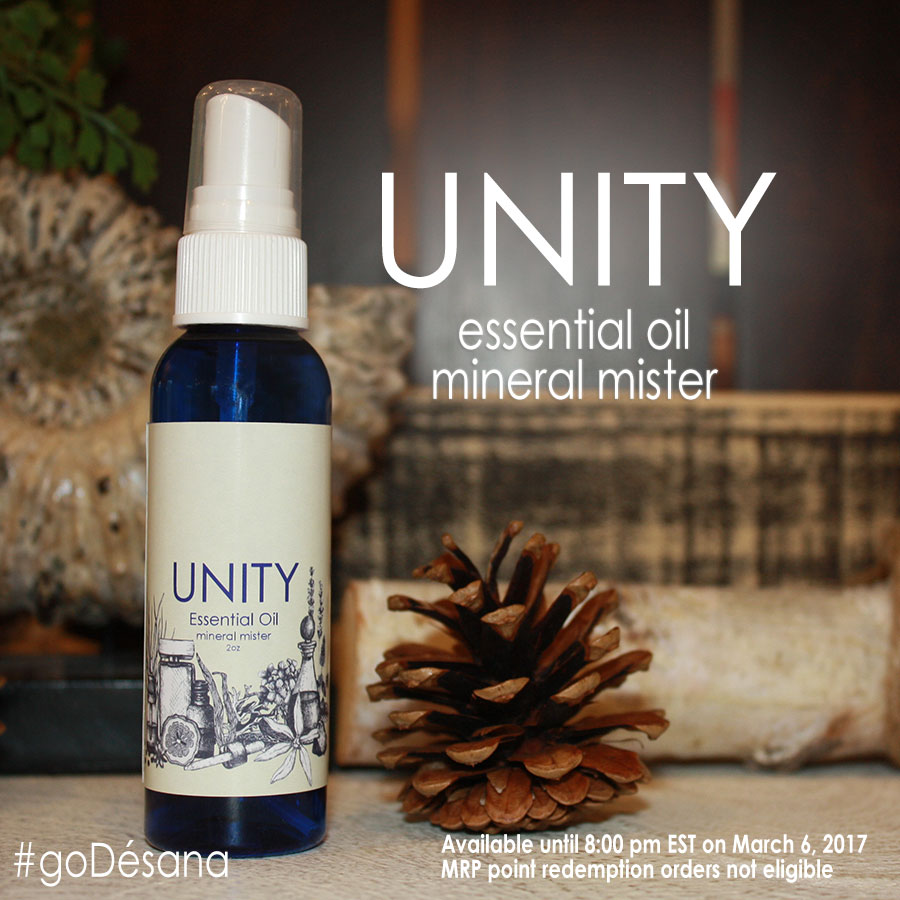 Unity Essential Oil Mineral Mister
