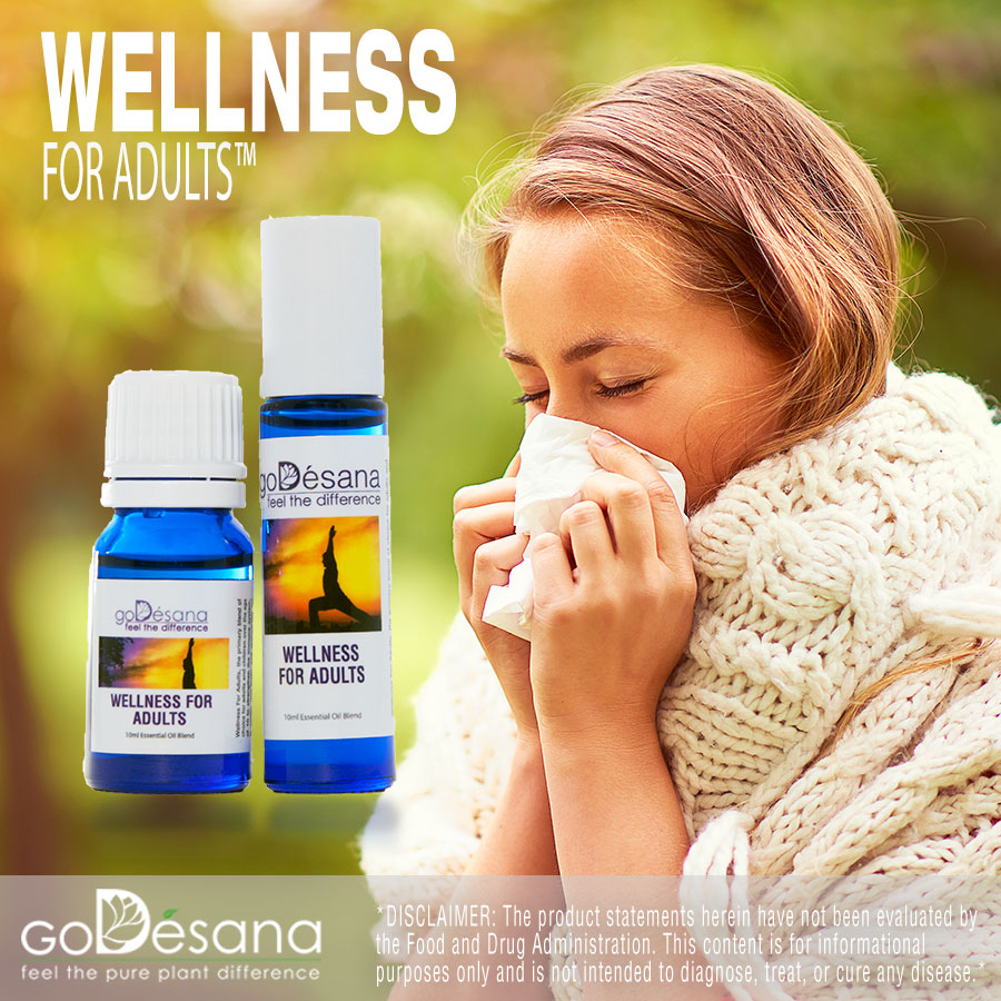 Wellness For Adults Essential Oil Blend Social Media Image