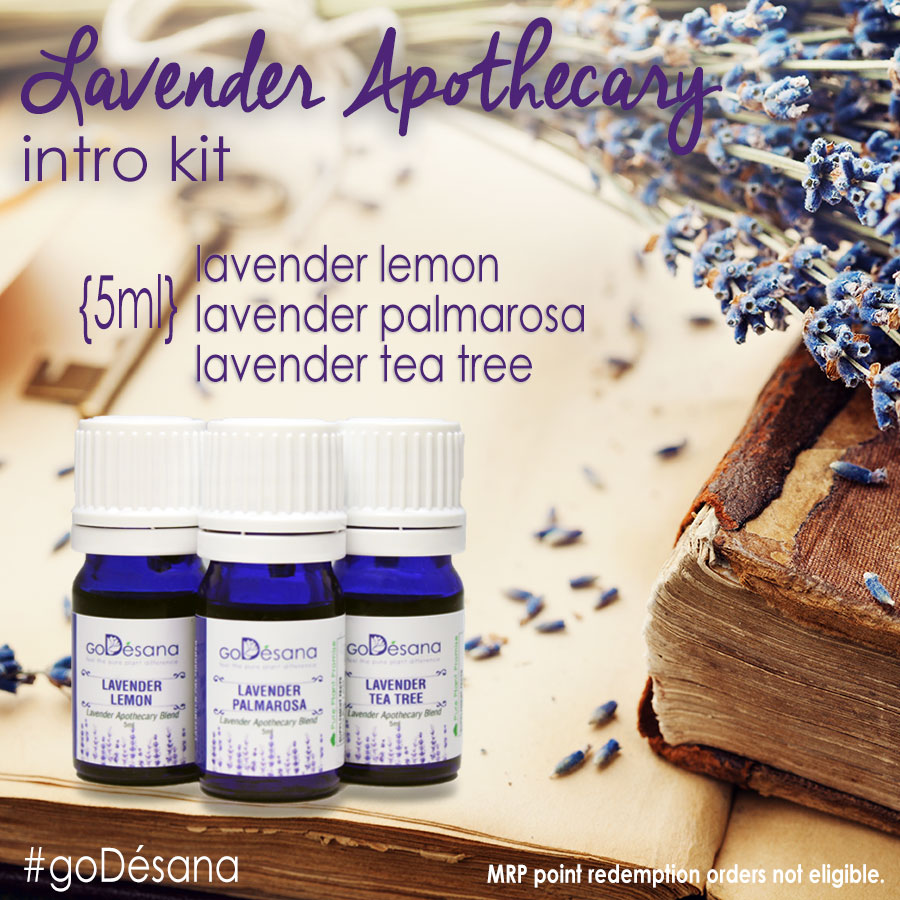Lavender Apothecary Intro Kit