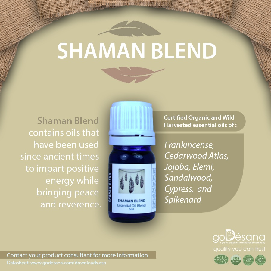 Shaman Blend Essential Oil Social Media Image