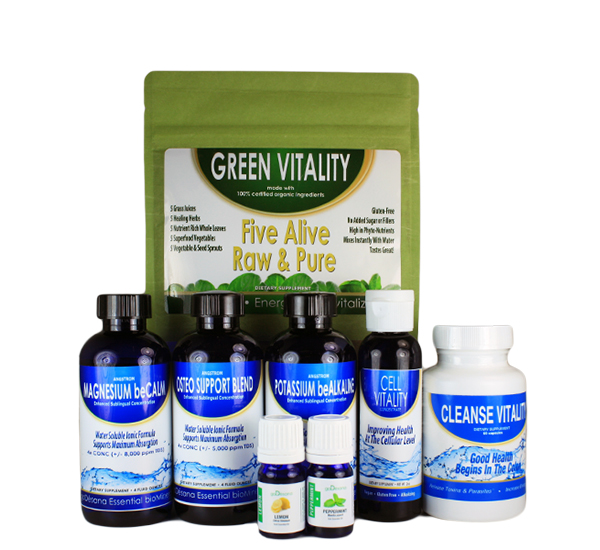 Alkalize & Cleanse Pack