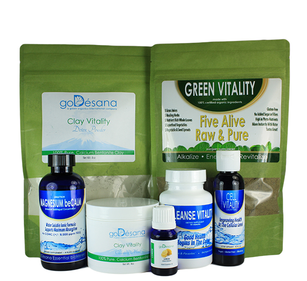 Cleanse Your Way Pack
