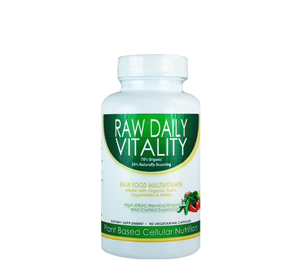 Raw Daily Vitality Caps {90ct}